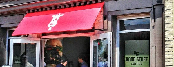 Good Stuff Eatery is one of The NE.