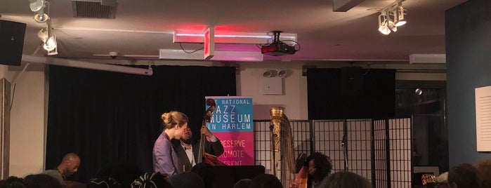 The National Jazz Museum In Harlem is one of Things to do not restaurants.