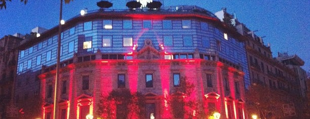 Hotel Claris is one of 36 hours in...Barcelona.