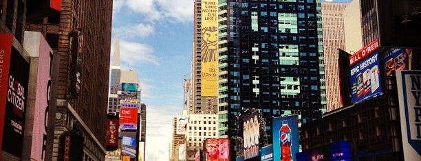 Times Square is one of Architecture - Great architectural experiences NYC.