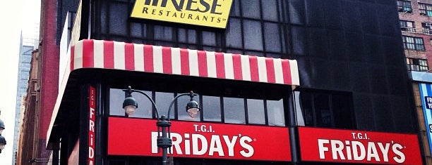 TGI Fridays is one of Paris.