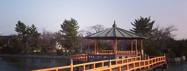 九華公園(桑名城趾) is one of 中世・近世の史跡.