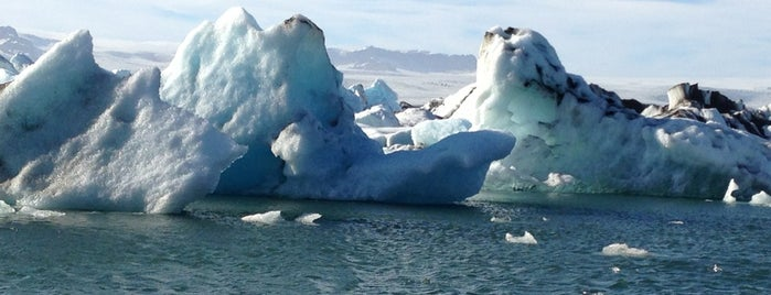 Glacier Lagoon is one of Iceland Grand Tour.
