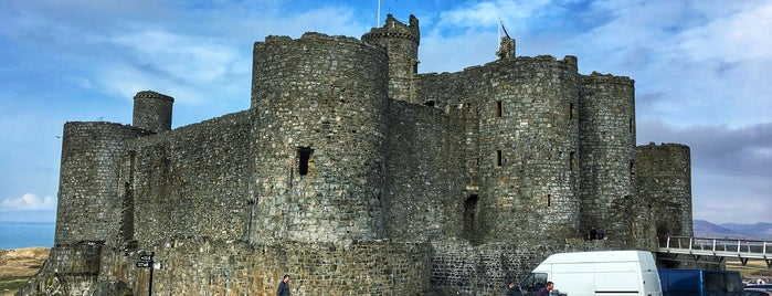 Castles near to Trawsfynydd Holiday village