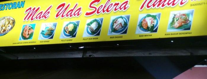 Restoran Mak Uda Selera Timur is one of Shah Alam.