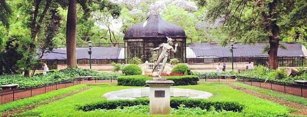 "Jardín Botánico ""Carlos Thays"" is one of Buenos Aires."