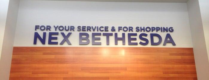 Bethesda Navy Exchange (NEX) is one of favorites.