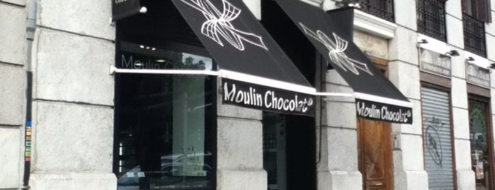 Moulin Chocolat is one of Madrid.