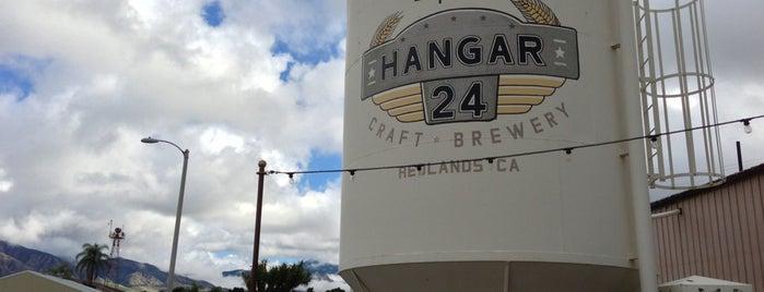 Hangar 24 Craft Brewery is one of San Diego Brewery and Beer Pubs.