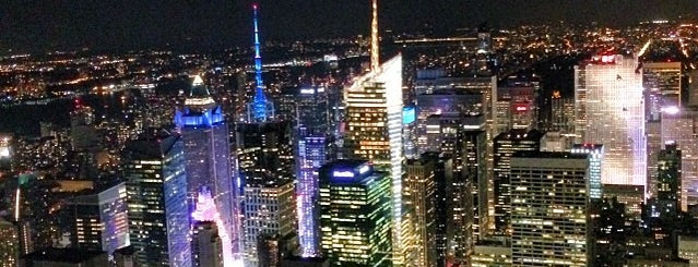 Empire State Building 86th Floor Observation Deck is one of NYC Manhattan 14th-65th Sts & Central Park.