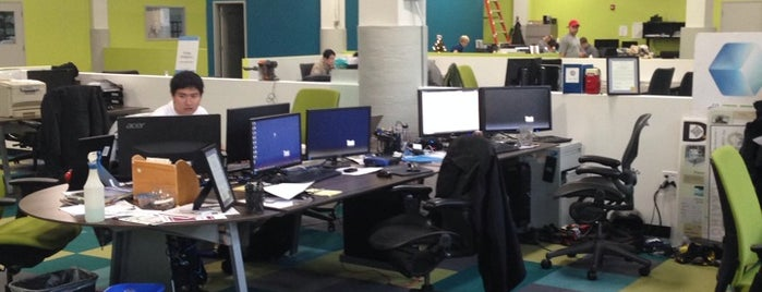 Greentown Labs is one of Boston Tech.