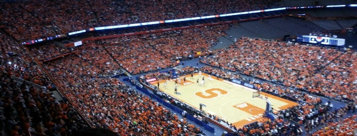 Carrier Dome is one of Quads.