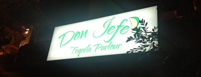 Don Jefe's Tequila Parlour is one of Business contacts.
