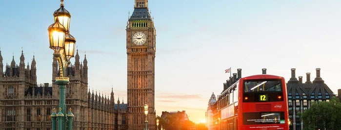 Big Ben (Elizabeth Tower) is one of I Want Somewhere: Sights To See & Things To Do.