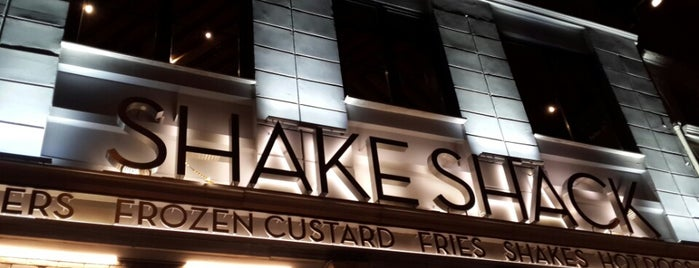 Shake Shack is one of Restaurants, Cafes, Lounges and Bistros.