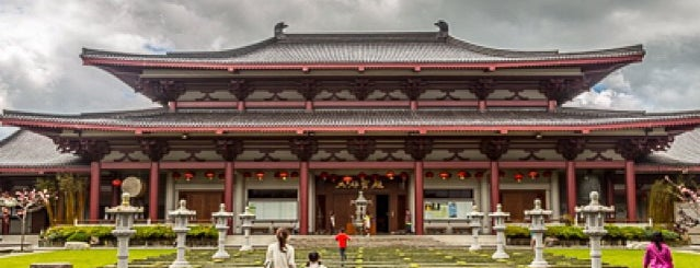Fo Guang Shan Temple | 北岛佛光山 is one of NZ to go.