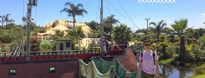 Treasure Island Adventure Golf is one of Fun Group Activites around New Zealand.