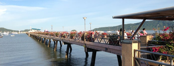 Chalong Bay Pier is one of Port.