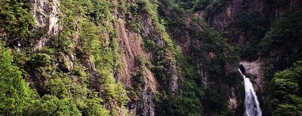 不動七重の滝 is one of 日本の滝百選.