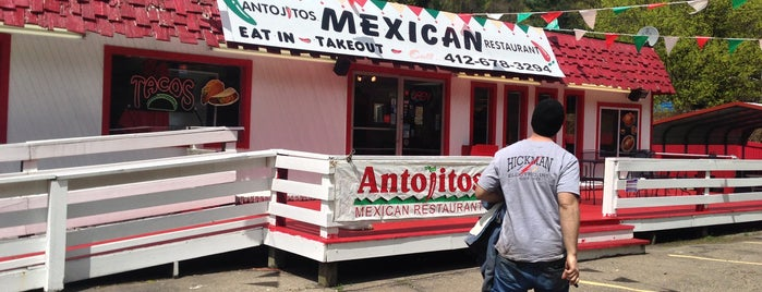 Antojitos Mexican Restaurant is one of Restaurants in and around East Pittsburgh.