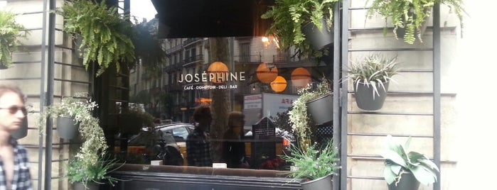 Joséphine is one of Restaurantes de nivel en Barcelona.