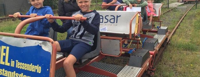 Railbike is one of Uitstap idee.