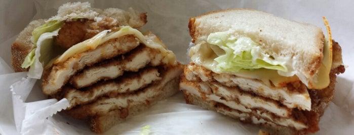 Olga's Delicatessen is one of Chicago's Top 50 Sandwiches.