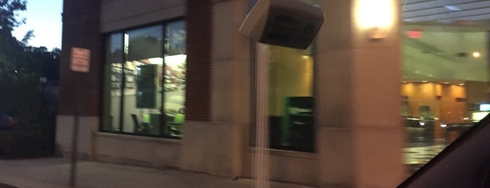 TD Bank is one of Frequent places.
