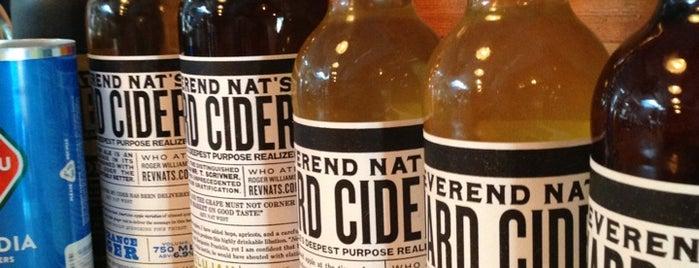Reverend Nat's Hard Cider is one of Portland 2018.