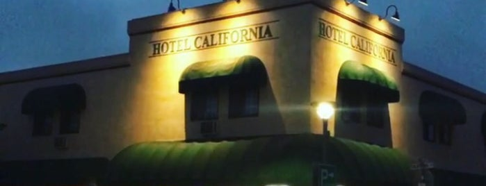 Hotel California is one of Bill.