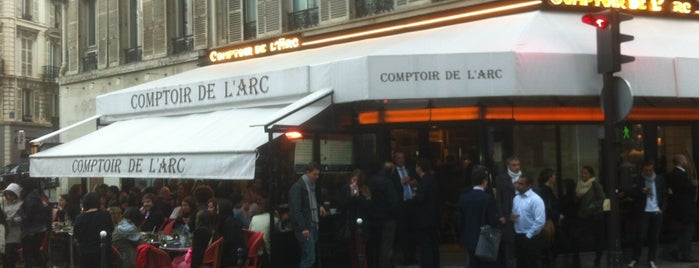 Le Comptoir de l'Arc is one of Paris - Trendy places.