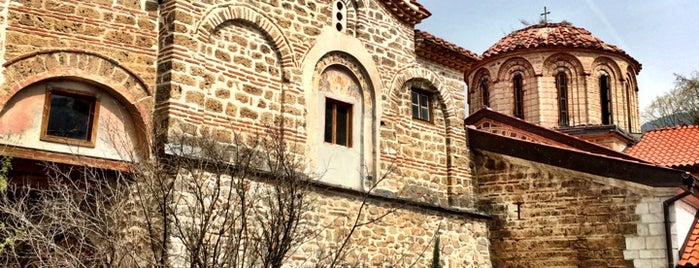 Bachkovo Monastery is one of SOF+.