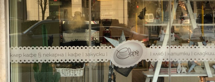 Claire is one of Sofia - Cafés.