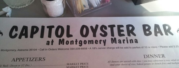 Capitol Oyster Bar is one of prattVEGAS faves.