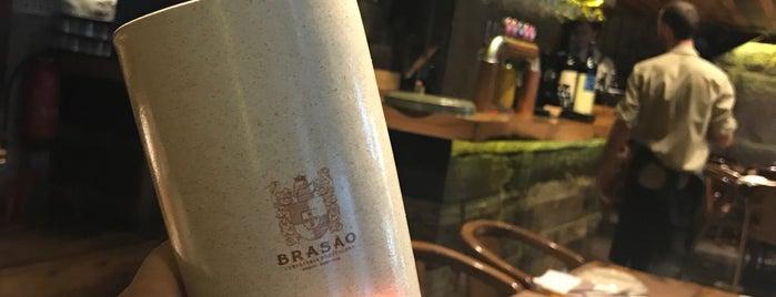 Brasão Cervejaria is one of Tapas / Petiscos.