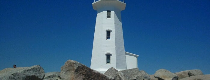 Peggys Point Lighthouse is one of Faros.