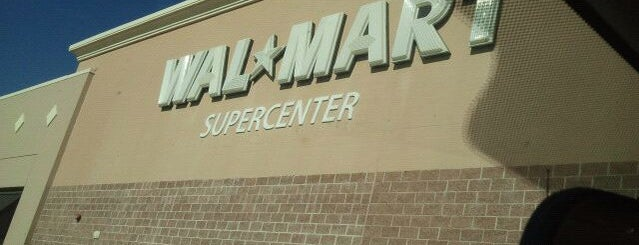 Walmart Supercenter is one of Recycle Hotspots.