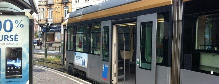 Bienfaiteurs / Weldoeners (STIB / MIVB) is one of Belgium / Brussels / Tram / Line 25.