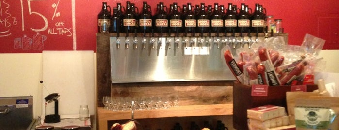 Hops and Hocks is one of The 15 Best Places for a Craft Beer in Brooklyn.