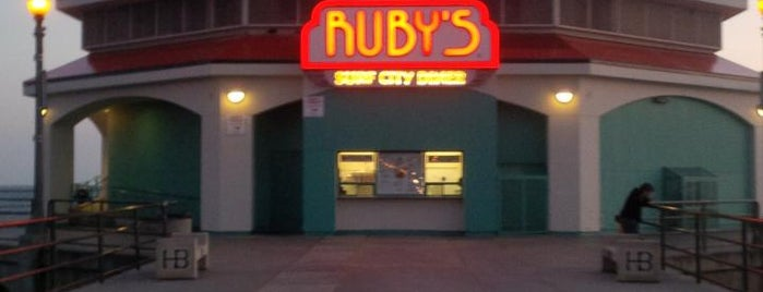 Ruby's Diner is one of 20 favorite restaurants.