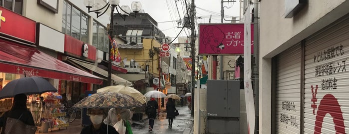 Shimokitazawa is one of Tokyo visited by K.