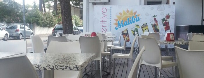 Malibu Café is one of Riviera Adriatica.