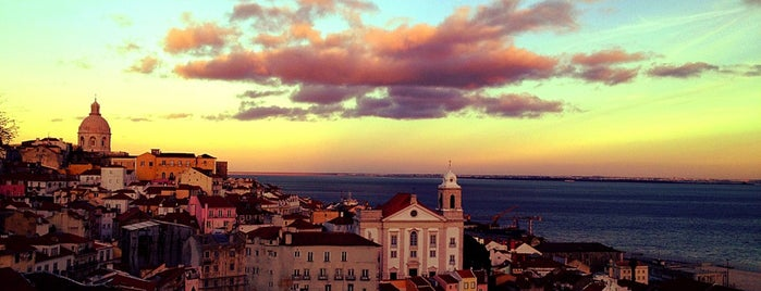 Miradouro de Santa Luzia is one of Lisbon.