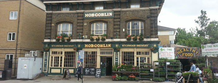 The Hobgoblin is one of London bars to watch football.