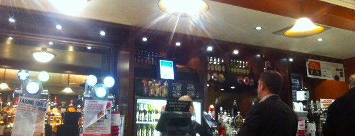The Thomas Drummond (Wetherspoon) is one of Favourite Boozers.