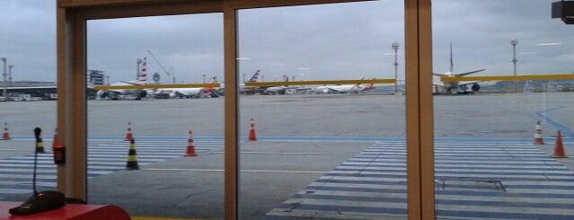 Portão 34 is one of Aeroporto de Guarulhos (GRU Airport).