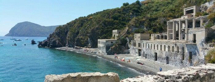 Cava Delle Pomici Lipari is one of South Italy.