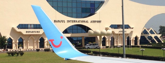 Banjul International Airport (BJL) is one of Airports.