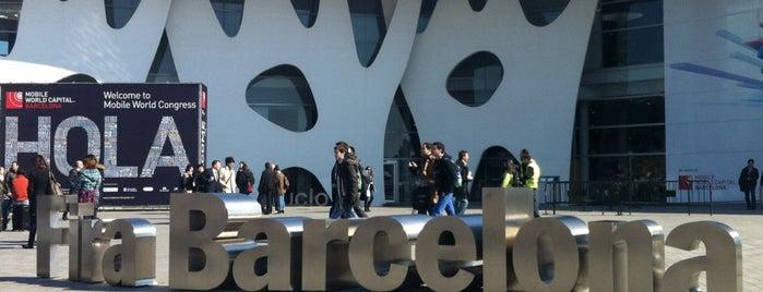 Fira Barcelona Gran Via is one of Barcelona.