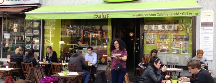 Salut Mediterranean Food & Catering is one of Berlin.